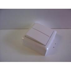 Выключатель 2 ОП ВА 56-232 бел.6А 250В ХИТ