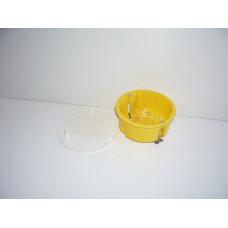 Коробка раз. СП КР  80х45 гипс (желт.кругл.большая)