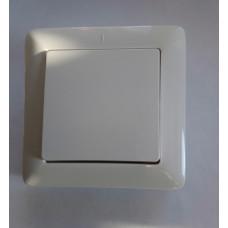 Выключатель 1клавиш. 6А белый внутренний ХИТ 250V