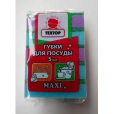 """""""Техтор"""" губки для посуды Maxi 5 шт."""