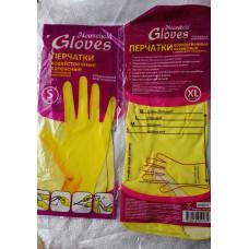Перчатки латексн.хоз.повыш.эластичн.(желтые)