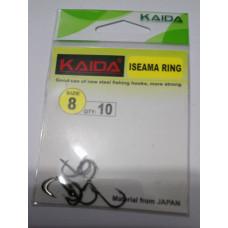 Крючки № 8 KAIDA 10 шт. в упаковке