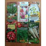 Cемена цветов, лекарственных растений, пряных и зелёных культур